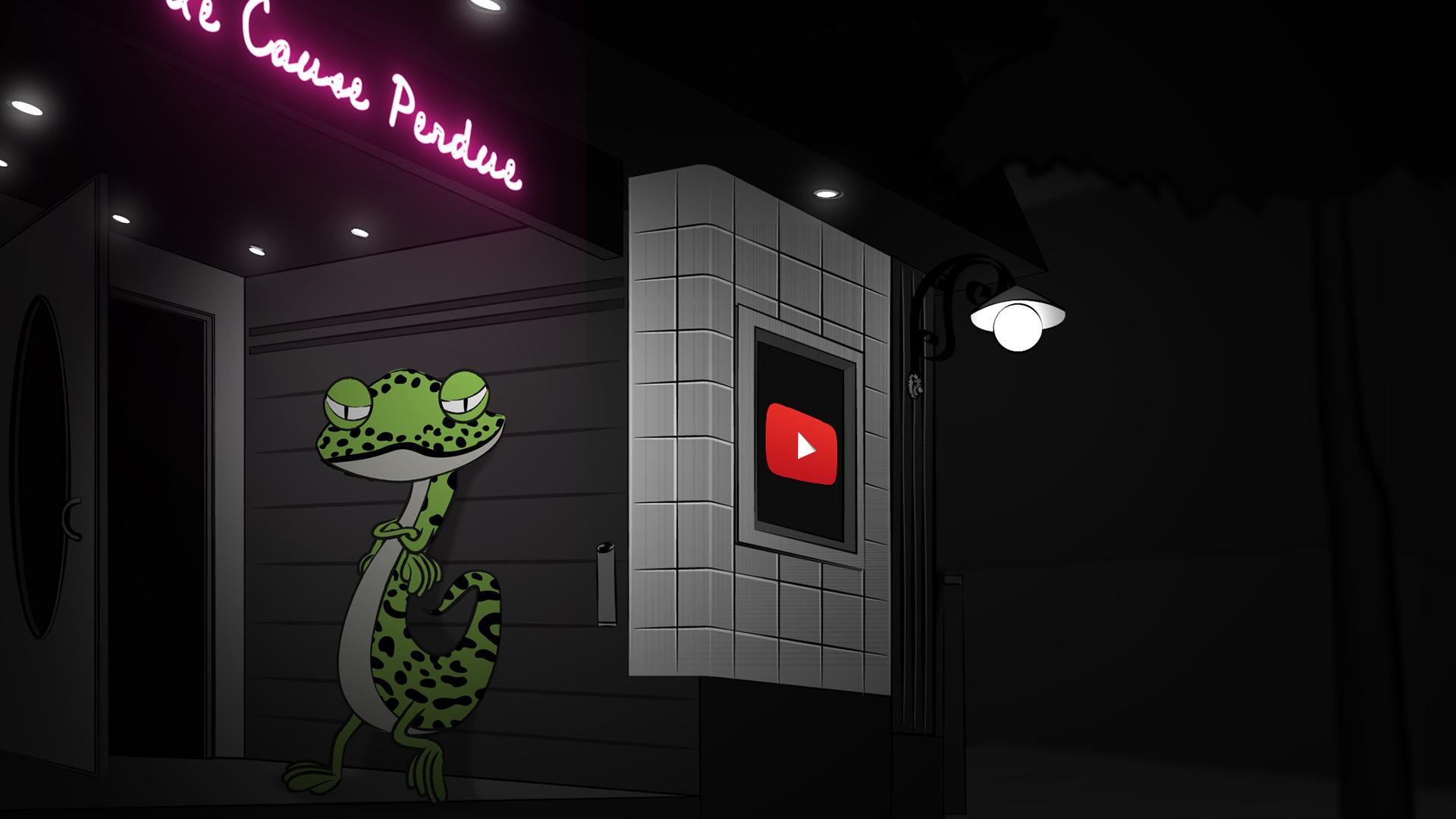 Le Gecko - Videoclip officiel